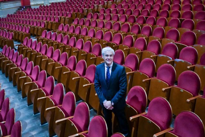 Ignacio García-Belenguer, director general del Teatro Real.