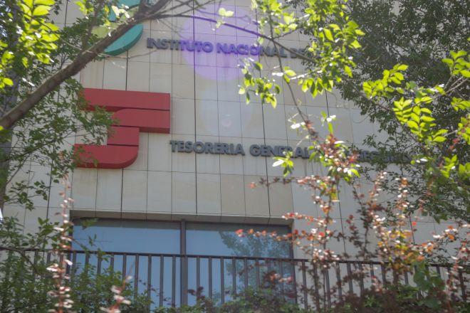 Tesorería General de la Seguridad Social en Madrid.