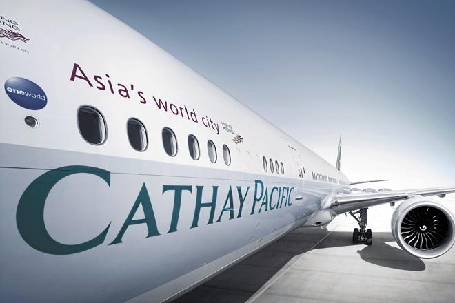 Avión de Cathay.