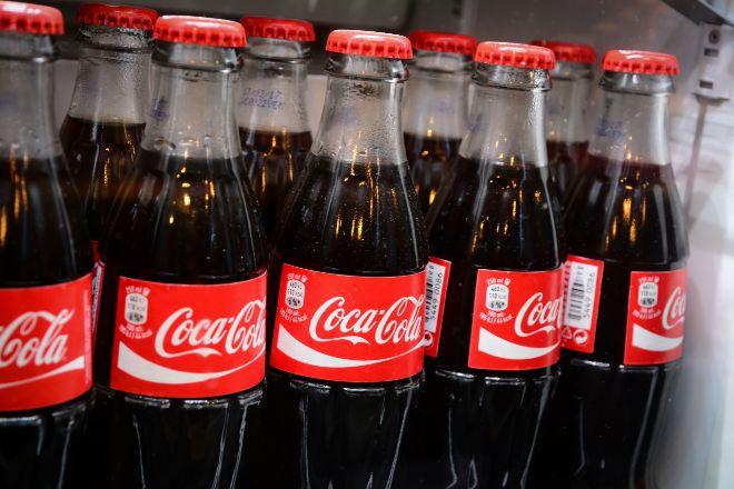 Botellas de Coca-Cola.