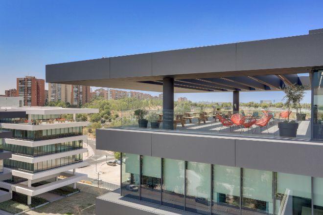 Nueva sede de ING en Vía de los Poblados (Madrid).