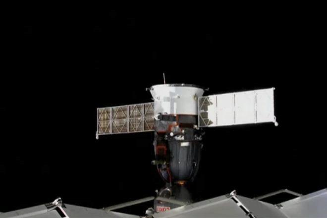 Exitoso aterrizaje de la nave espacial rusa Soyuz en Kazajistán