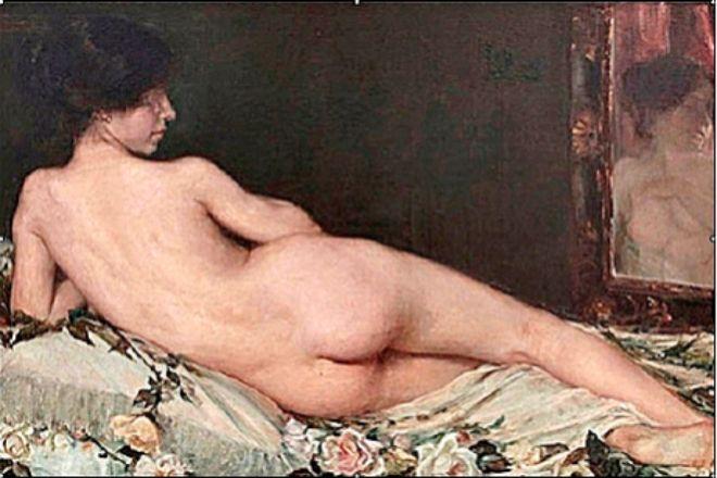 Aurelia Navarro: 'Desnudo' (1908).