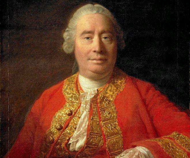 Retrato del economista y pensador escocés David Hume (1711-1776) por Allan Ramsay.