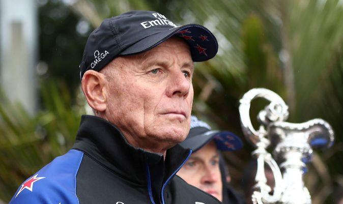 Grant Dalton, CEO del Team New Zealand. | AFP