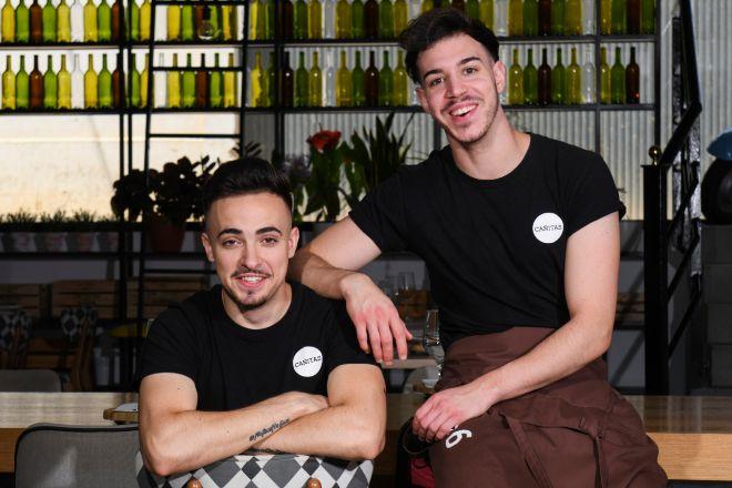 Javier Sanz (22 años)  y Juan Sahuquillo (22), de Cañitas Maite.