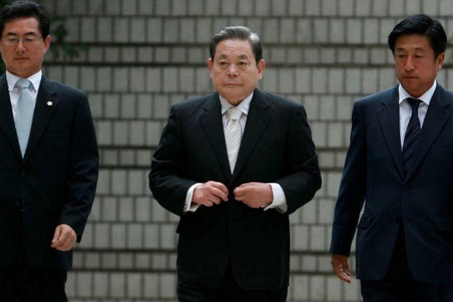 Muere Lee Kun-hee, presidente de Samsung, a los 78 años