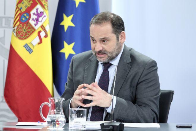 El ministro de Transportes, Movilidad y Agenda Urbana José Luis Ábalos.