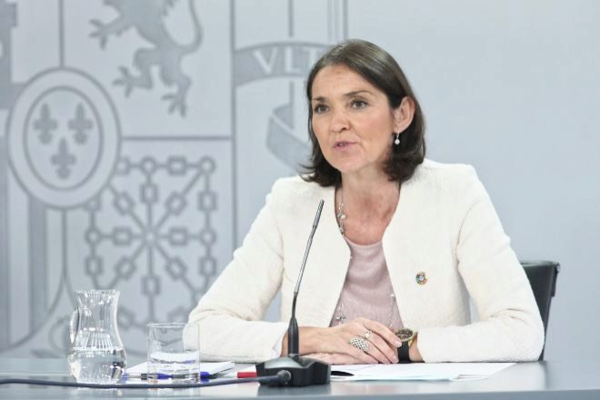 La ministra de Industria, Comercio y Turismo Reyes Maroto.
