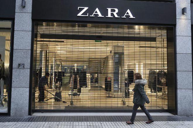 Tienda de Zara en Madrid.