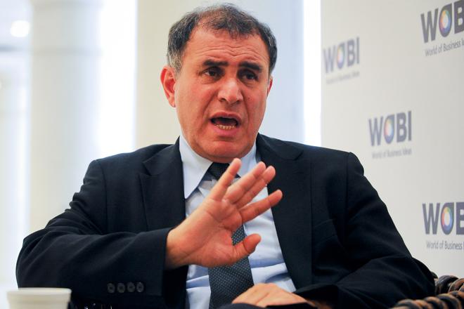 "Nouriel Roubini: ""Mi escenario: recuperación anémica que podría derivar a doble recesión"""
