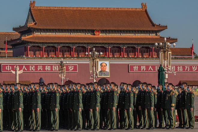 Desfile militar en la Ciudad Prohibida de Pekín, la semana pasada.