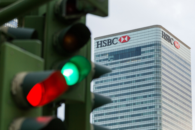Sede de HSBC en Londres.