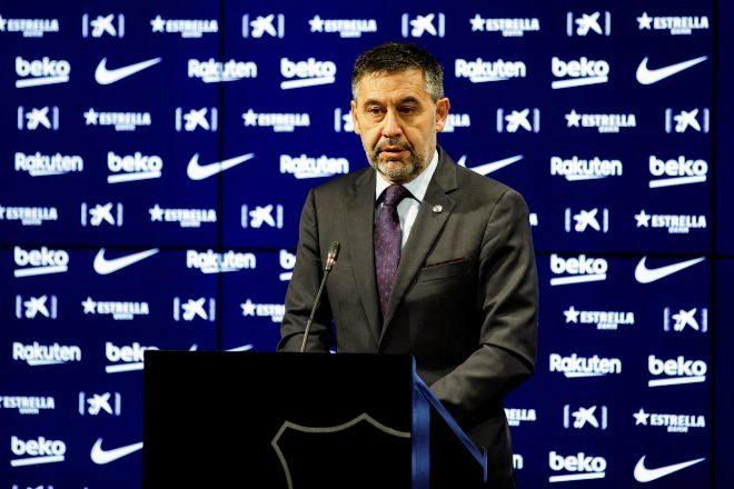 Josep Maria Bartomeu, hasta hoy presidente del FC Barcelona.