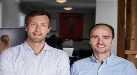 Los fondadores de Sidekick, Tryggvi Thorgeirsson y  Saemundur Oddsson.