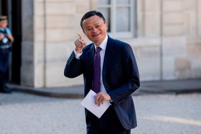 El presidente de Alibaba, Jack Ma.