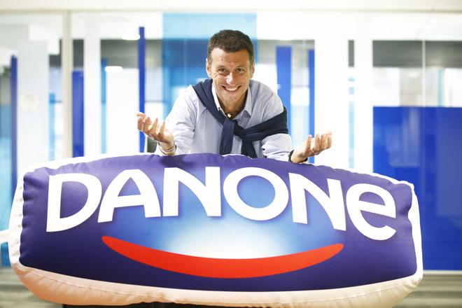 Paolo Tafuri es el director general de Danone en España.