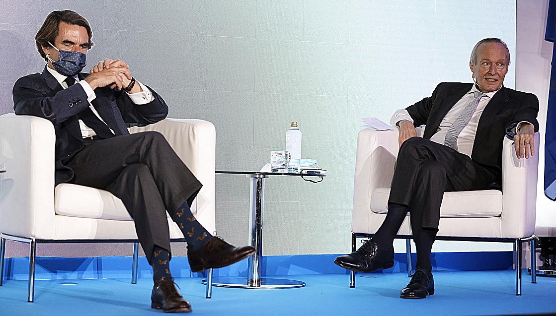 José María Aznar, presidente de Faes y expresidente del Gobierno de...