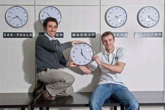 Ander Michelena y Jon Uriarte son los fundadores de All Iron.