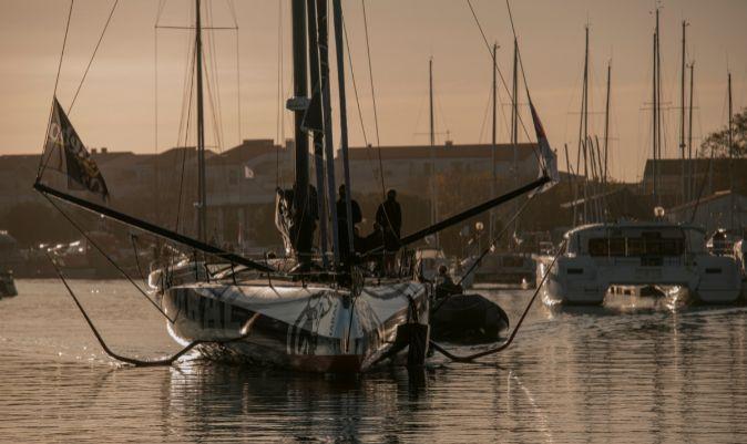 El Charal, regresando a puerto tras un entrenamiento. | OLIVIER BLANCHET / ALEA