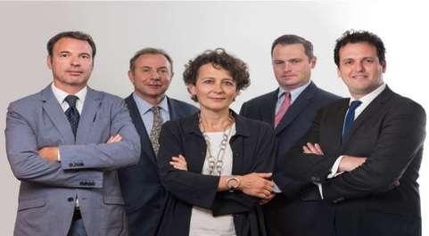 Los socios de Alta LS Miguel Valls, Guy Nohra, Montserrat Vendrell,...