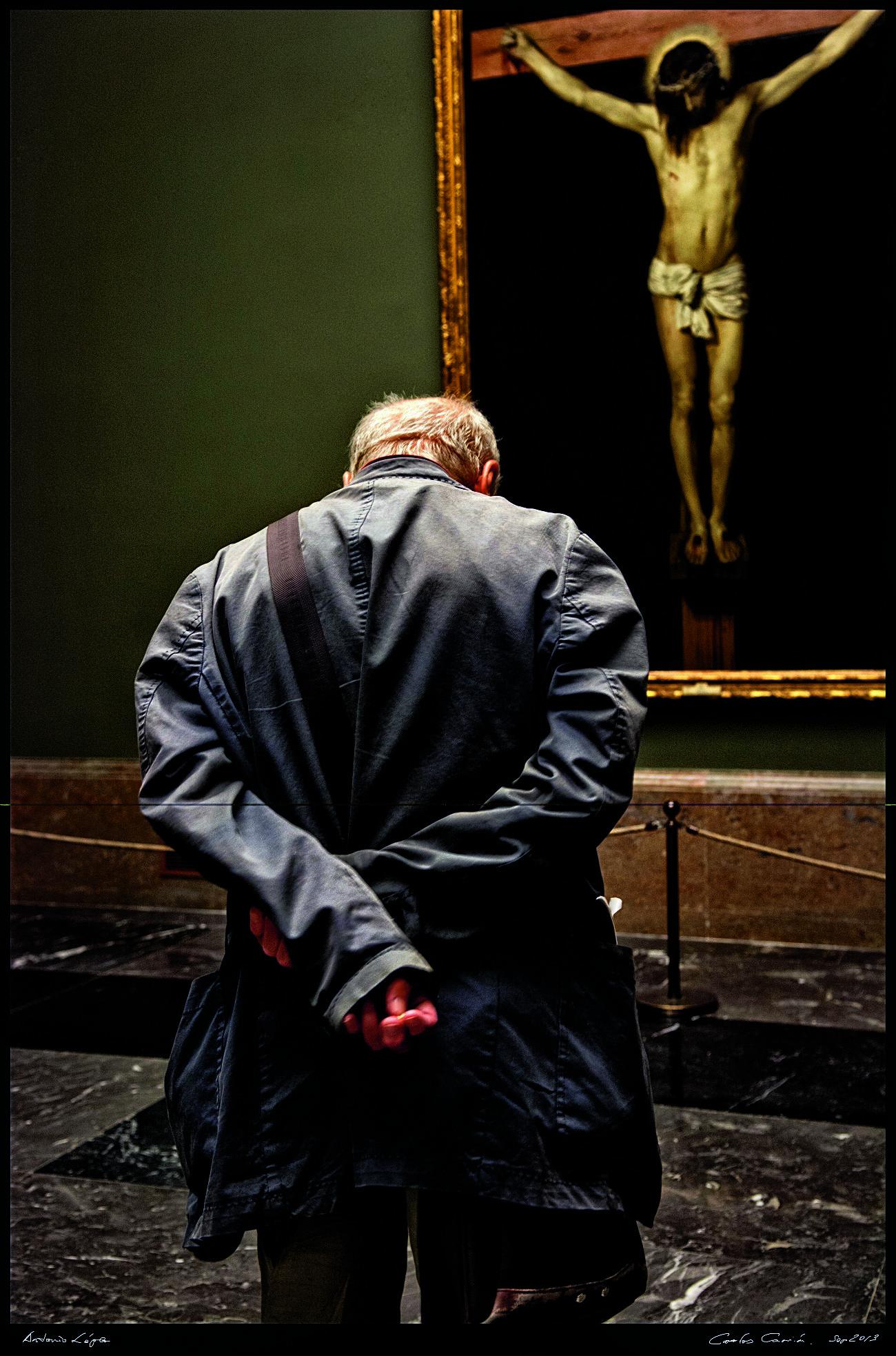 No tuve un flechazo con Velázquez, explica Antonio López...