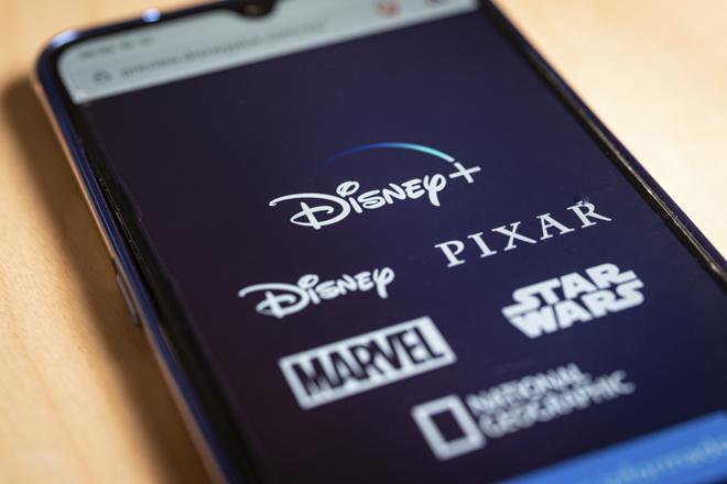Aplicación de Disney+.