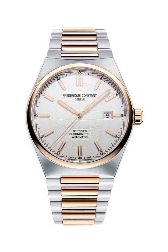 Reloj en acabado bicolor y con movimiento certificado COSC. 2.050 euros.