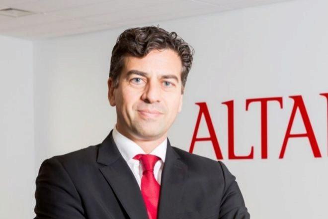 Marcos Beltrán, director comercial de Altamira.