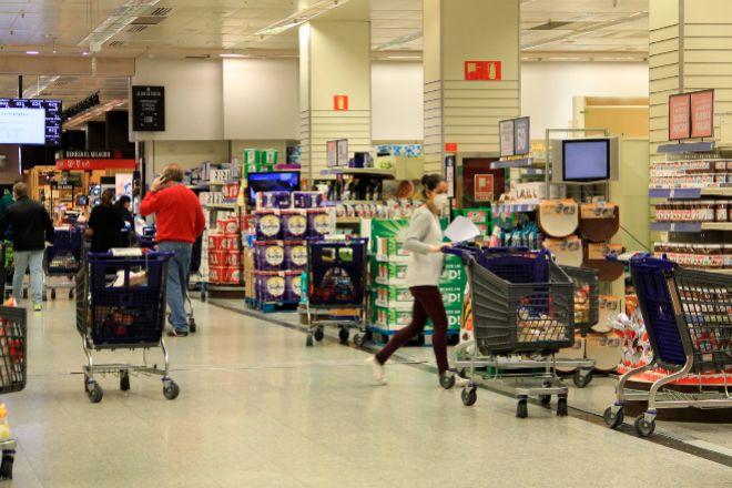 Arranca la segunda ola... de compras en los supermercados