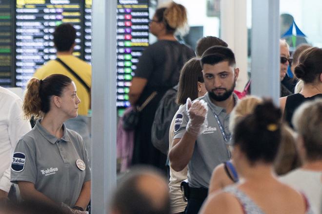 ¿Qué empresa ha arrasado por sorpresa en la seguridad de los aeropuertos de Aena?