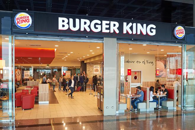 Establecimiento de Burger King.