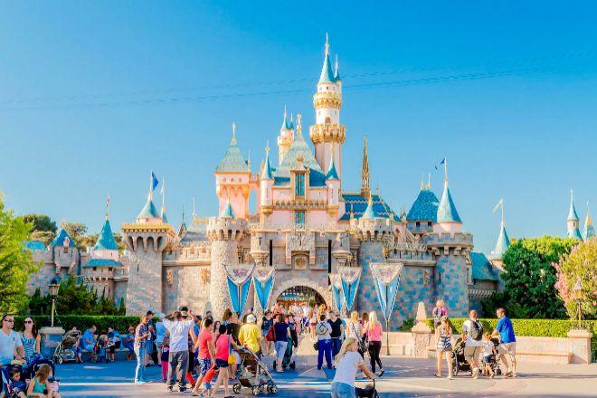 Castillo de Cenicienta en Disneyworld, Anaheim (California).