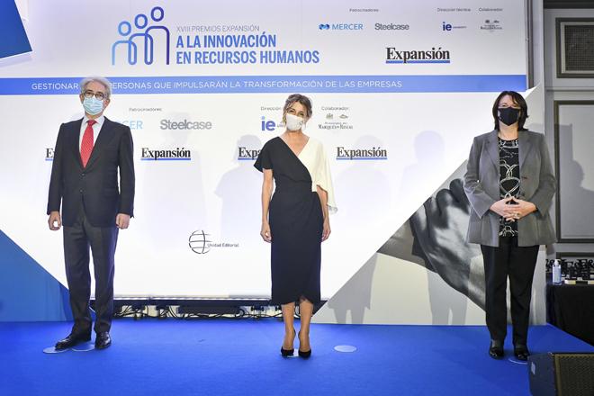 """Yolanda Díaz: """"Sólo es posible competir asegurando la calidad humana de las empresas"""""""
