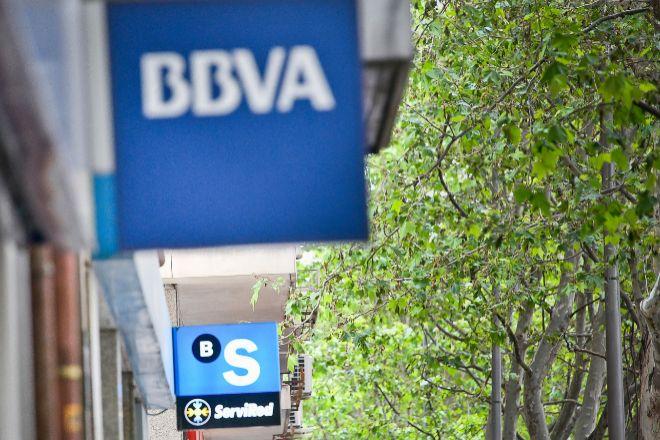 Oficinas de BBVA en Sabadell en Madrid.