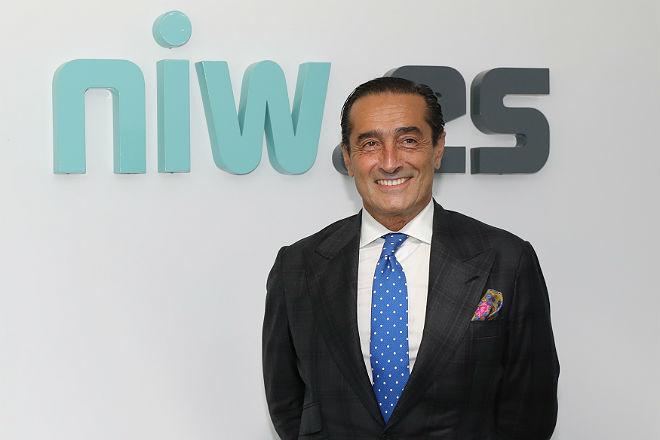 Ignacio de Benito en el acto de presentación de la plataforma NIW.es.
