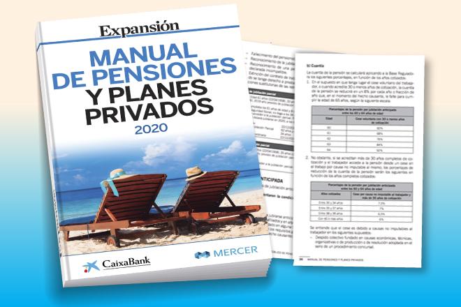 Expansión le ofrece el mejor Manual de pensiones y planes privados
