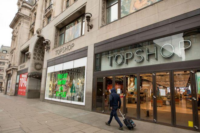 Tienda TopShop en Londres.