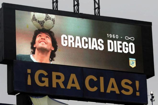 Estás hecho un Maradona