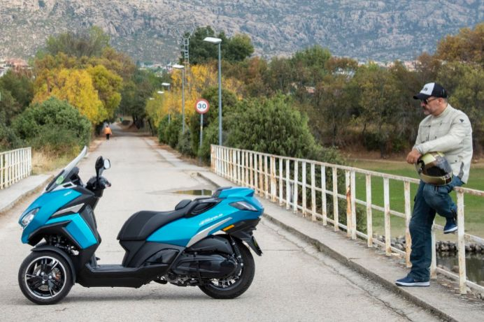 Metropolis Allure, ¿el mejor león de Peugeot Motocyles?