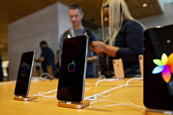 Teléfonos de Apple.