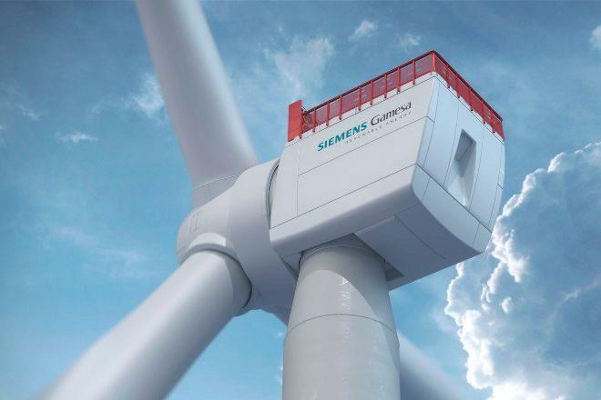 Aerogenerador de Siemens Gamesa.