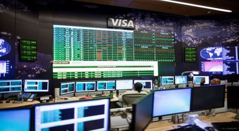 Centro de datos de Visa.