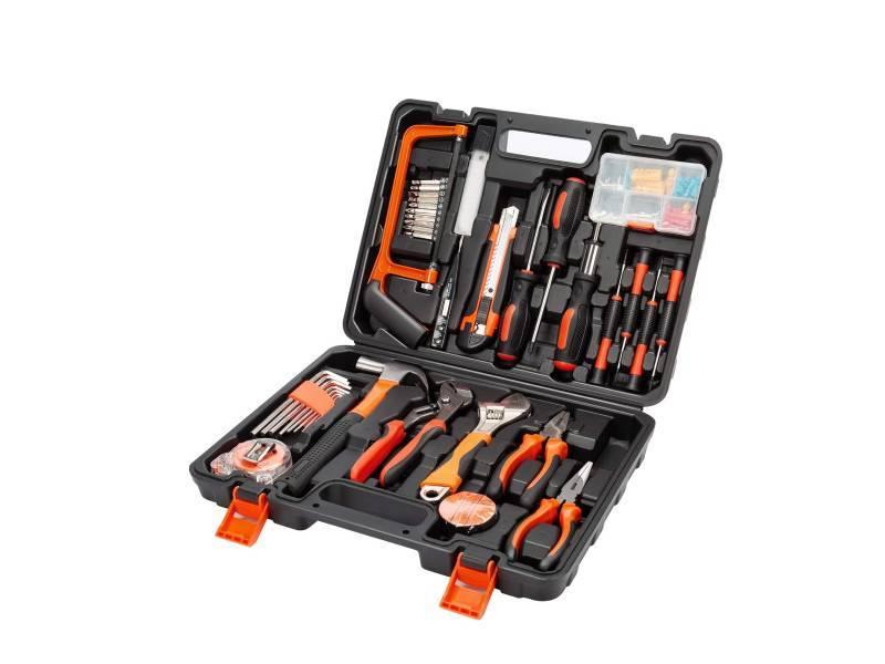 Kit básico para manitas (ideal para mudanzas y chapuzas varias): taladros, cajas de cartón, sets de herramientas, bolsas XXL...