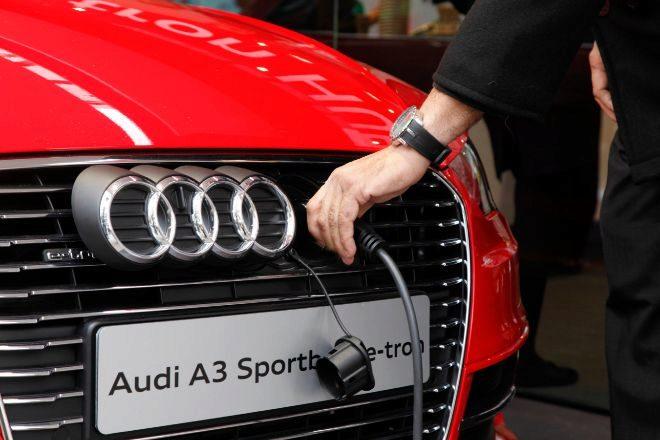 Audi A3 eléctrico.