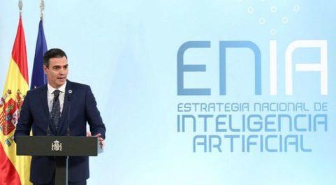 El presidente del Gobierno, Pedro Sánchez, durante presentación de...