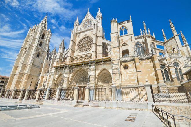 La catedral de León, el monumento más icónico de la ciudad.