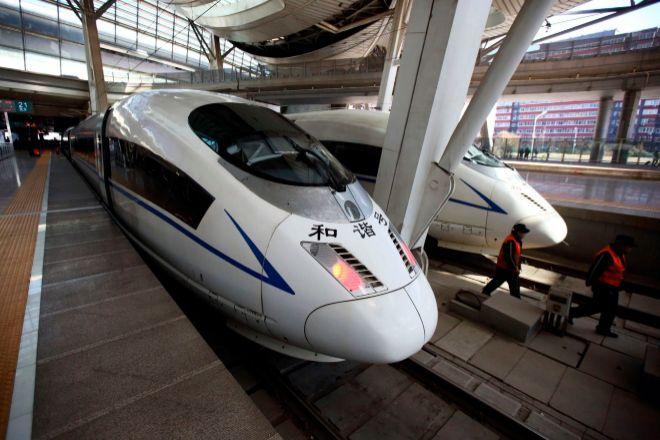 Trenes de China Railway.