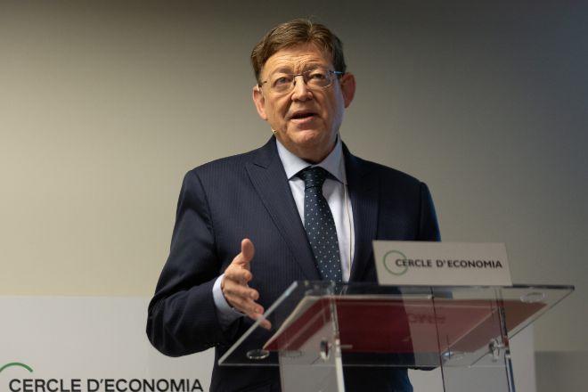 El presidente de la Comunidad Valenciana Ximo Puig.