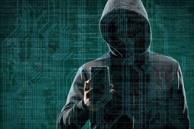 Hacker informático.